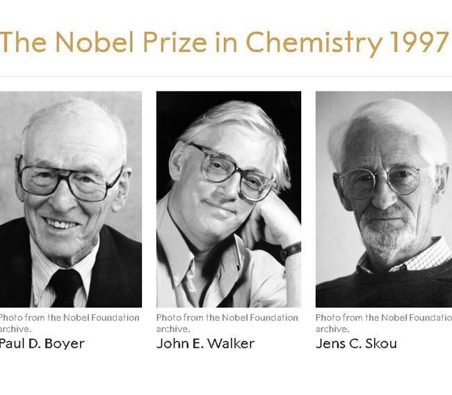 Giải Nobel Hóa học năm 1997