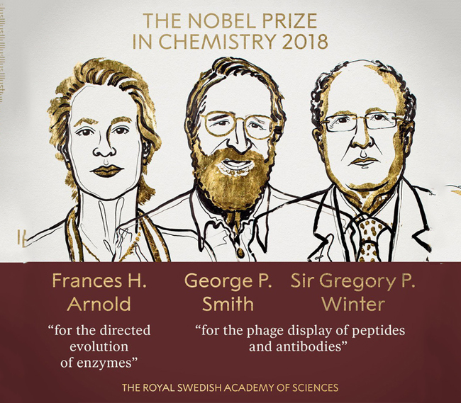 Giải Nobel Hóa học năm 2018